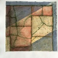 Collagraph & watercolour
